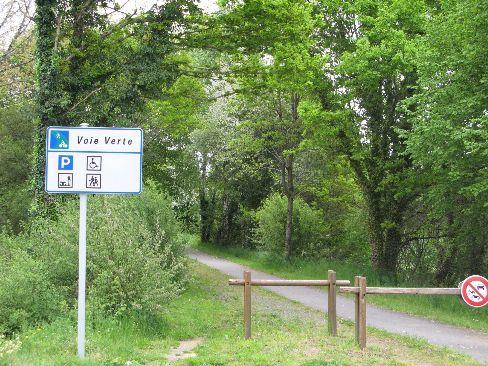 voie vert cycling